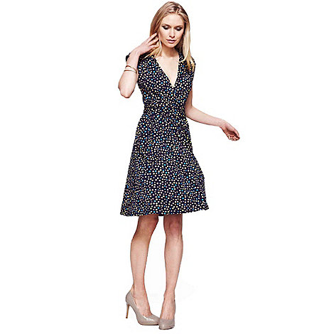 HotSquash - Dotty false wrap dress in unique CoolFresh