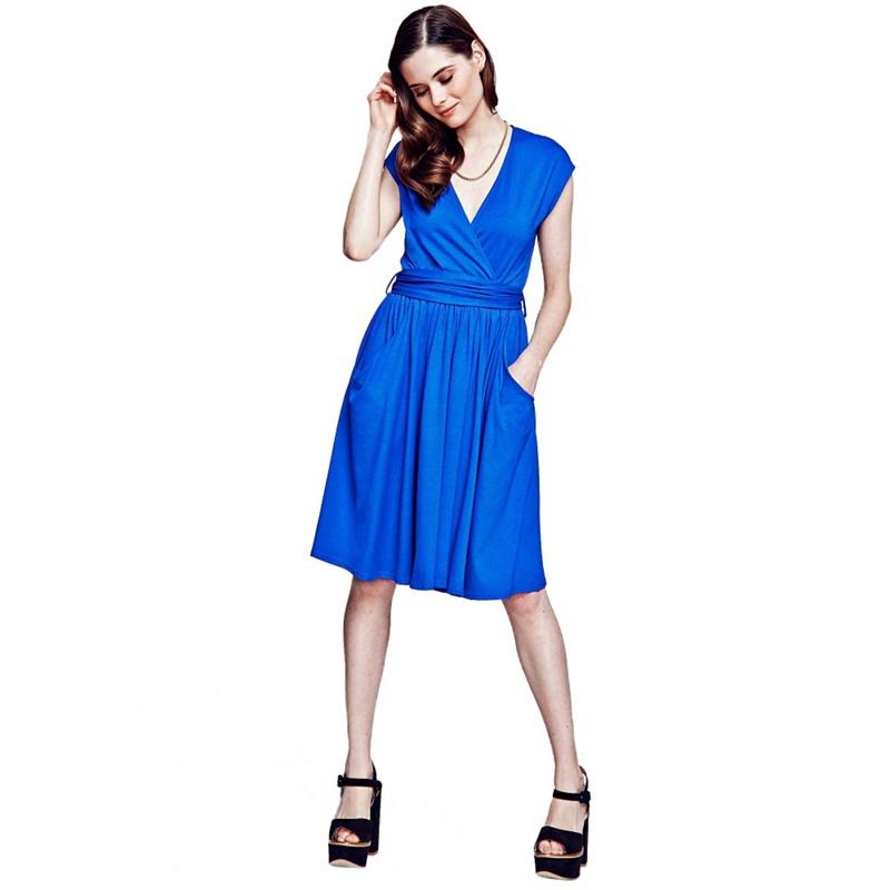 Hotsquash Sleeveless Knee Length Dress, Womens, Size: 8,