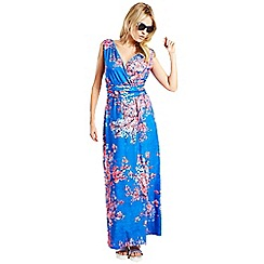 HotSquash - Cherry blossom print maxi dress