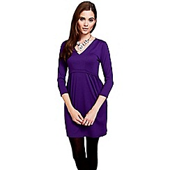 HotSquash - Purpe long sleeved tunic with ThinHeat