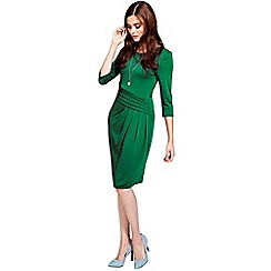 HotSquash - Long sleeved lawn knee length dress