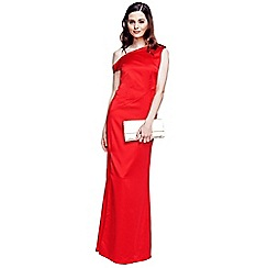 HotSquash - Red long evening dress
