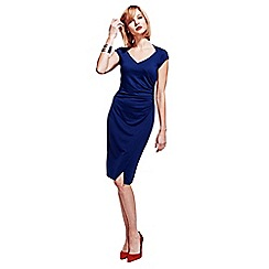 HotSquash - Navy Raglan Sleeve Dress in clever fabric