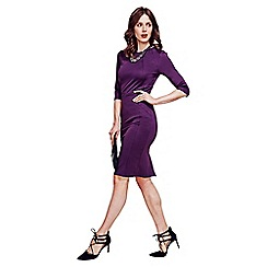 HotSquash - Damson Pimlico Ponte Dress