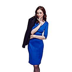 HotSquash - Royal Blue Victoria Ponte Dress
