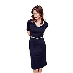 HotSquash - Black Victoria Ponte Dress