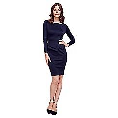 HotSquash - Black Fitzrovia Ponte Dress