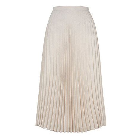 HotSquash - Natural pleat skirt in clever fabric