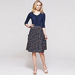 HotSquash - Flared knee length skirt with CoolFresh