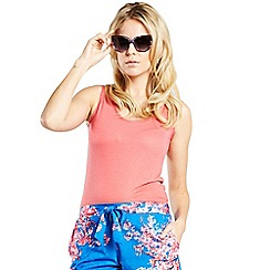 HotSquash - Cherry print shorts with tie belt