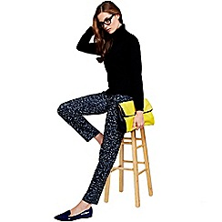 HotSquash - Black print trousers