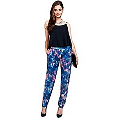 HotSquash - Palm print trousers