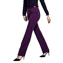HotSquash - Damson Belgravia bootleg trousers