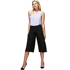 HotSquash - Black easy care culottes in clever fabric