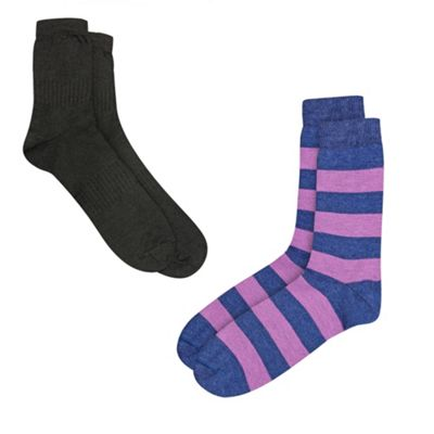 2 Pack Thermal Socks With ThinHeat