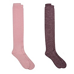 HotSquash - 2 Pack Knee High Thermal Socks With ThinHeat