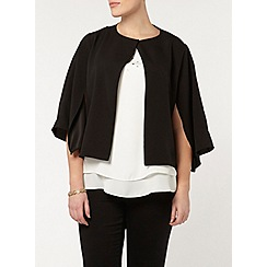 Evans - Collection split sleeve jacket