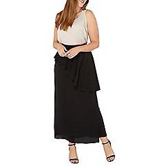 Evans - Black frill skirt