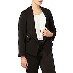Evans - Black hourglass fit jacket