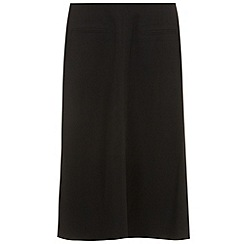 Evans - Black picasso skirt