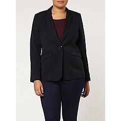 Evans - Navy picasso blazer
