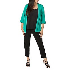 Evans - Green soft jacket