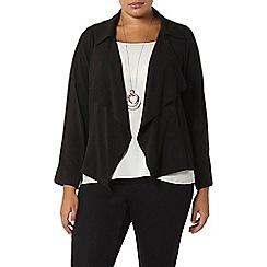 Evans - Black waterfall jacket