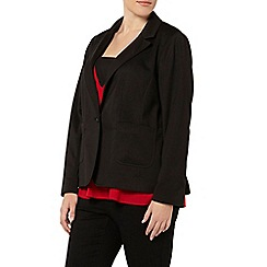 Evans - Black one button jacket