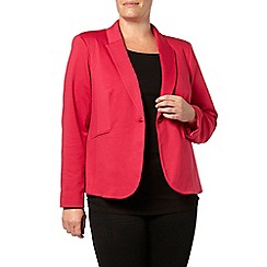 Evans - Pink jersey jacket