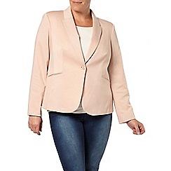 Evans - Stone jersey jacket