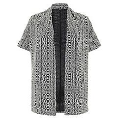 Evans - White and black kimono