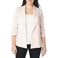 Evans - Pink soft blazer jacket