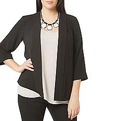 Evans - Black soft panel jacket