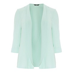 Evans - Mint crepe jacket