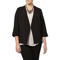 Evans - Black textured jacket