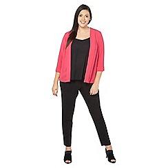 Evans - Pink soft panel jacket