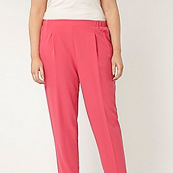 Evans - Pink tapered trousers