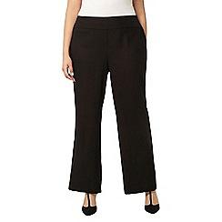 Evans - Black linen trouser
