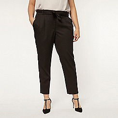 Evans - Black tie tapered trouser