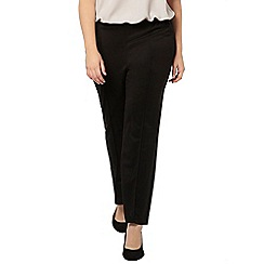 Evans - Black jersey straight leg trouser