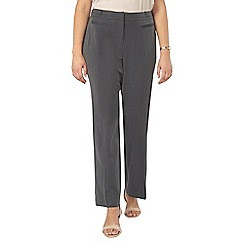 Evans - Grey straight leg trousers