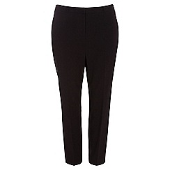 Evans - Black pear fit tapered trousers
