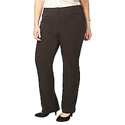 Evans - Black straight leg trousers