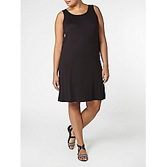 Evans - Black sleeveless dress