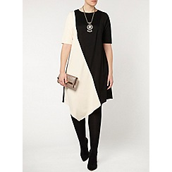 Evans - Collection colour block dress