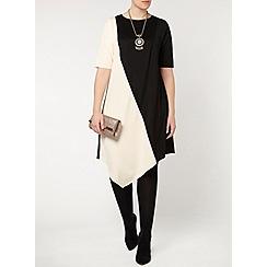 Evans - Collection colour block dress