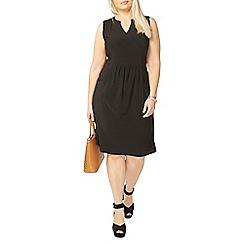Evans - Black sleeveless dress