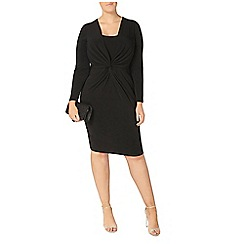 Evans - Black hourglass fit dress
