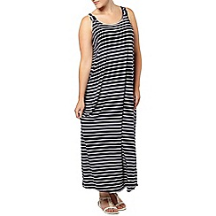 Evans - Stripe knot maxi dress