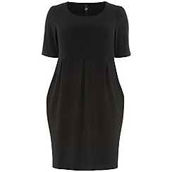 Evans - Black pocket dress